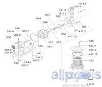 Запасные части к насосам BADU FA 21-50/36 + FA 21-60/45