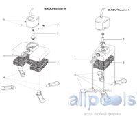 Запасные части к насосам BADU Spyder