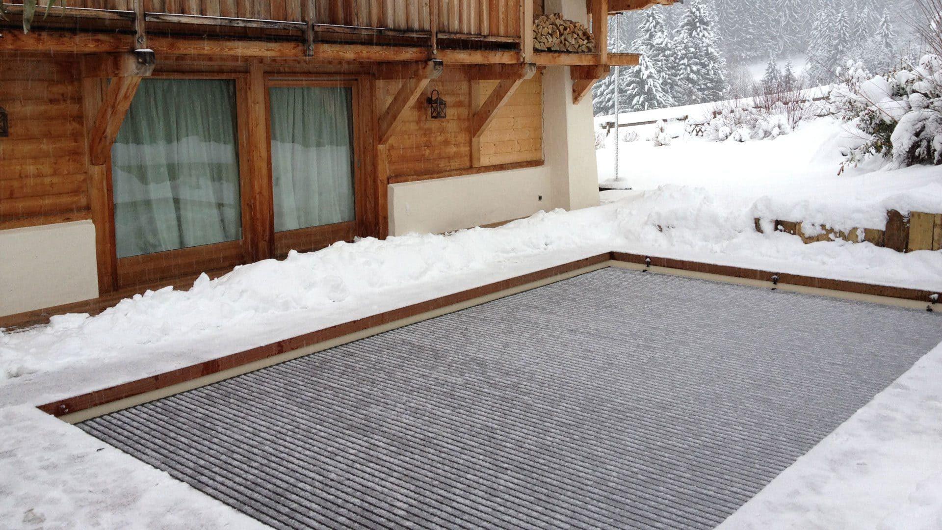 Как накрыть бассейн на зиму
